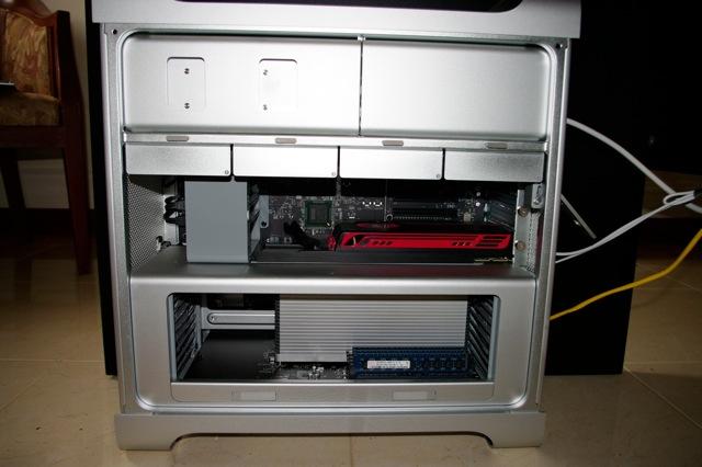 inside of the 2010 Mac Pro