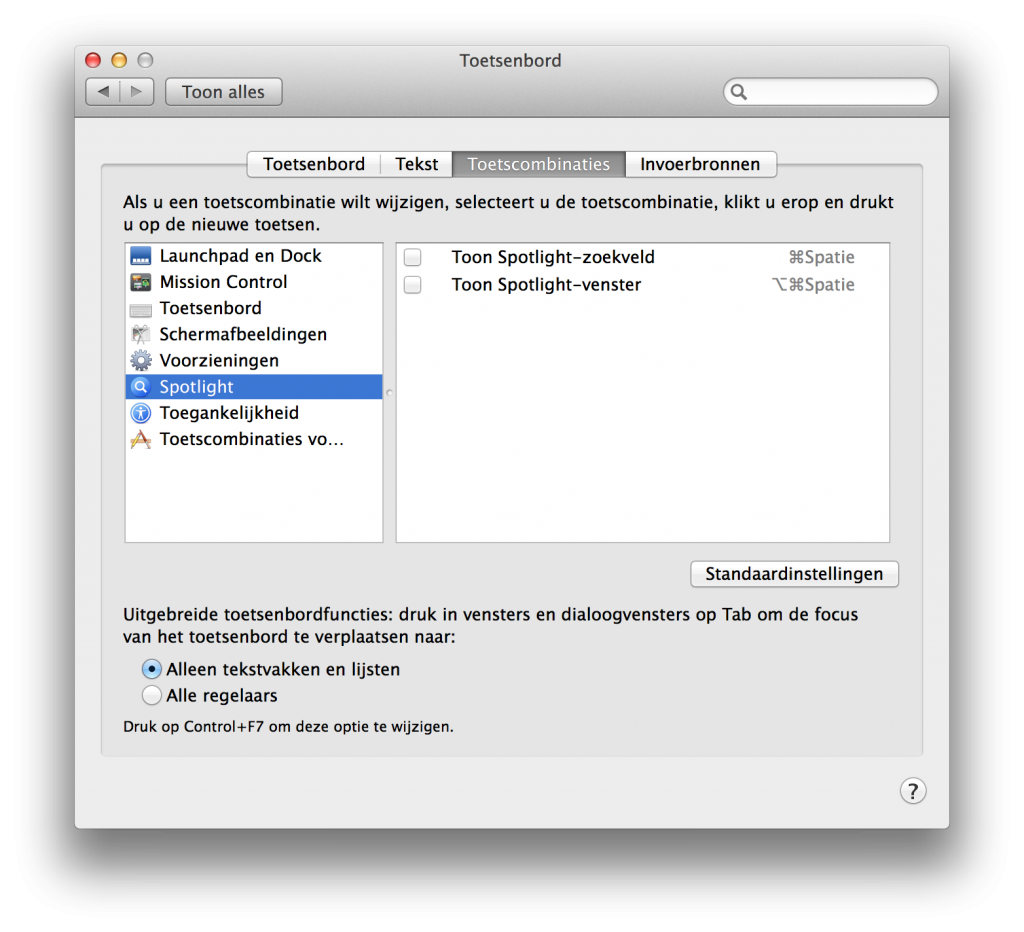 unchecking the CMD-ALT-SPACE Spotlight Finder shortcut in OS X Mavericks