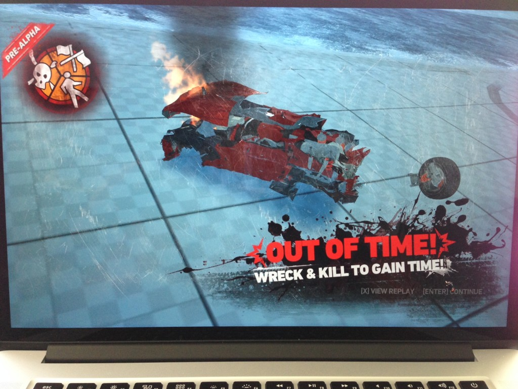 Carmageddon Reincarnation pre alpha on a Mac