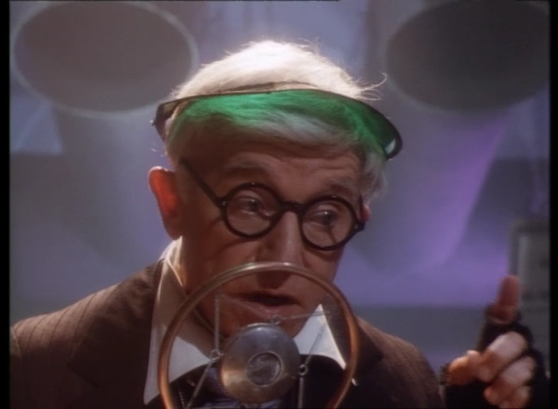 Eerie Indiana - The Losers - Mister Lodgepoole sounds a lot like a young professor Hubert J Farnsworth