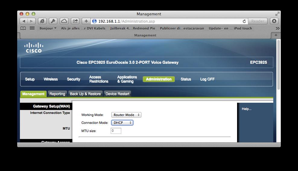 UPC-Cisco-EPC3925-modem-router-mode